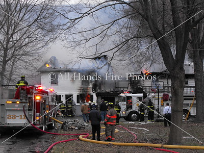 20090328 - Town of Fishkill - House Fire