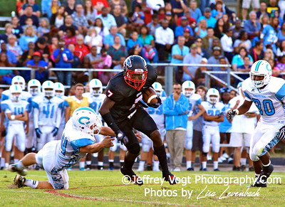 09-06-2013 Quince Orchard HS vs Clarksburg HS Varsity Football, Photos by Jeffrey Vogt Photography with Lisa Levenbach
