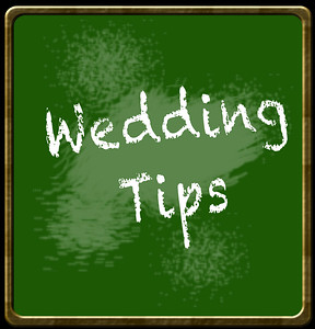 Wedding Tips and Planning