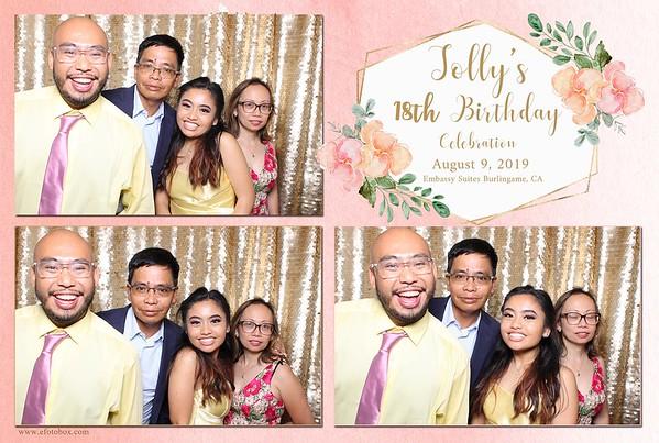 Jolly's 18th Birthday