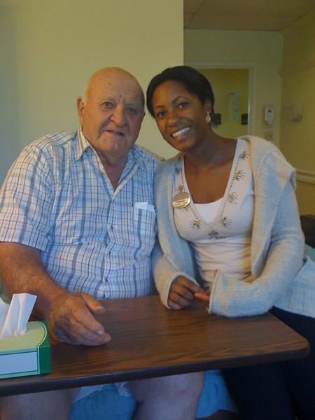 2009 07 14 - Mr Parkhill and Tamara