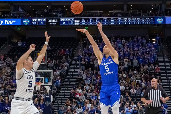 Men's BYU - Utah State • 12-14-2019