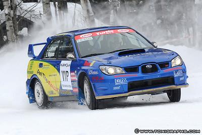 07.02.2010   Toivakka 100V-rallisprint, Toivakka