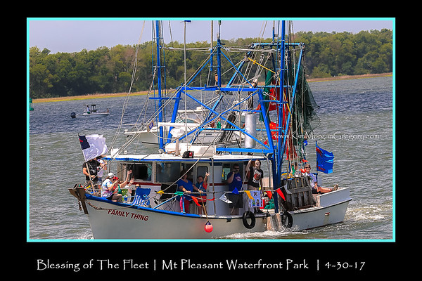 BLESSING OF THE FLEET | Mt PleasantSC