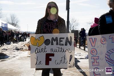 Women's March - Des Moines - 2018