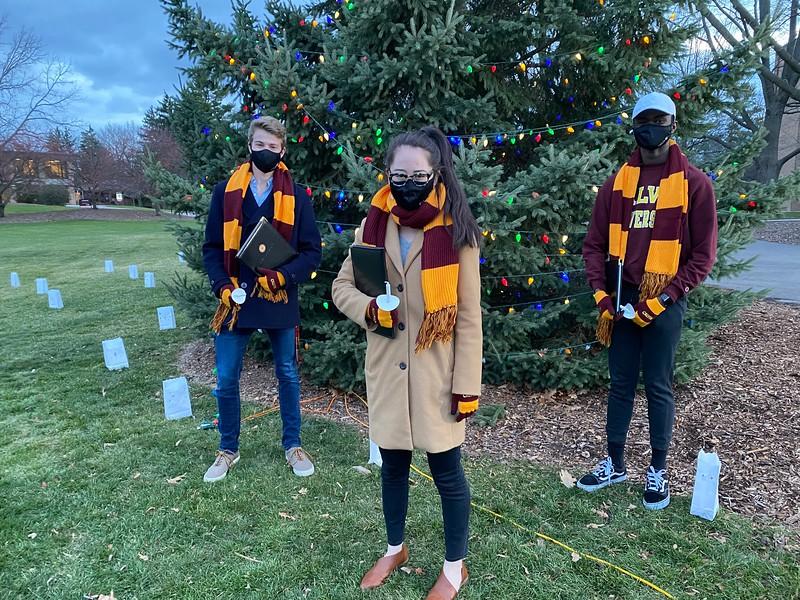 Calvin University Christmas Tree Lighting Senators.JPG