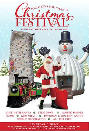 2016  Christmas Festival Santa Pictures