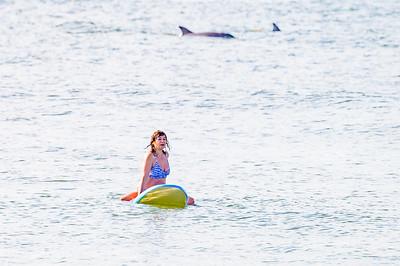 Elizabette Cohen Surfing Long Beach 9-4-21