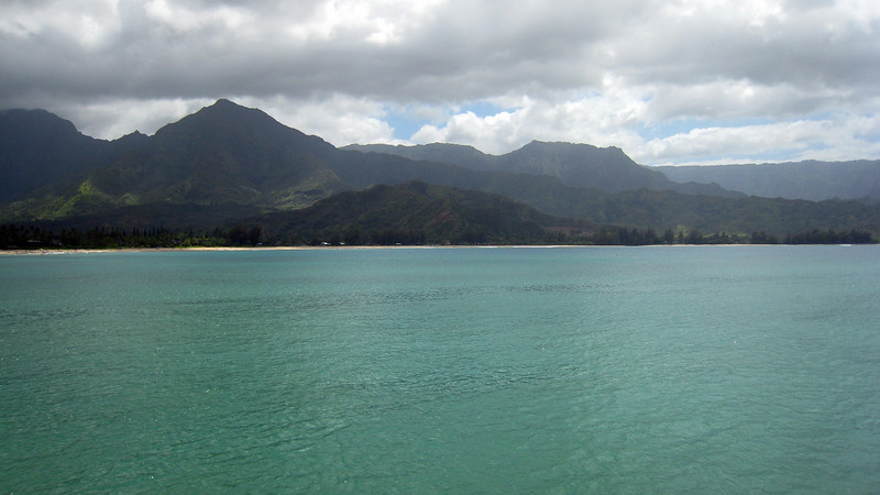 Hanalei Pier - South Pacific