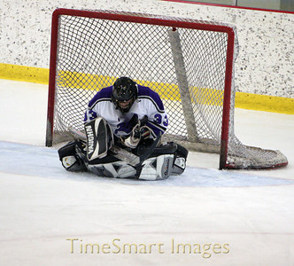 Baldwin Hockey Player #33 -- Goalie