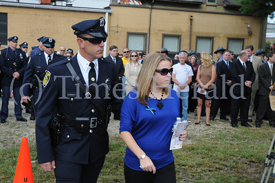 Fallen Hero plaque dedication for Plymouth Officer Fox