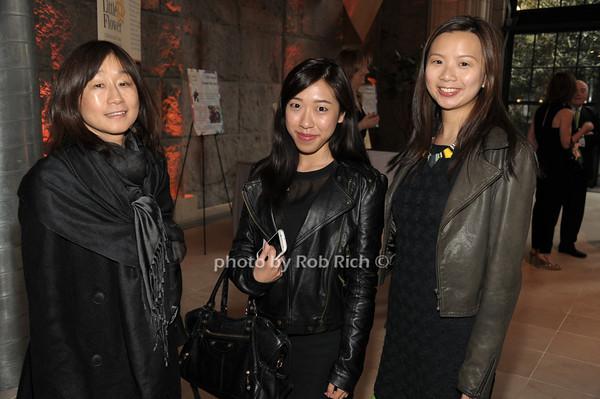 Julia Hara, Fiona Chu, Cynthie Ingram    photo  by Rob Rich © 2014 robwayne1@aol.com 516-676-3939