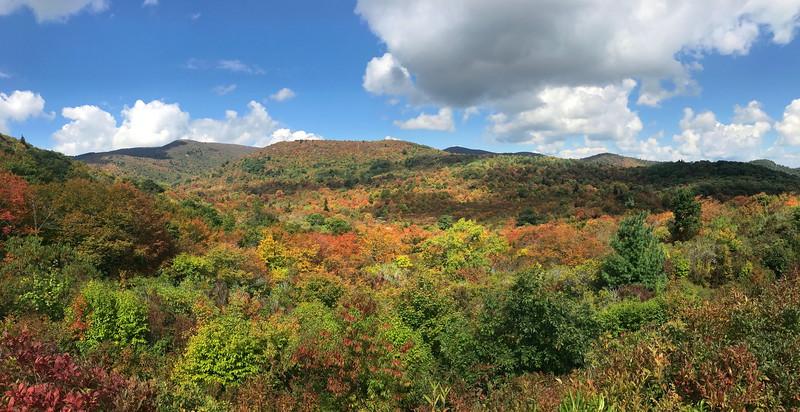 Graveyard Fields & Graveyard Ridge, Haywood County (9-17-17)