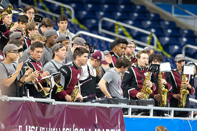 Band, UD v DLS Ford Field, 2019