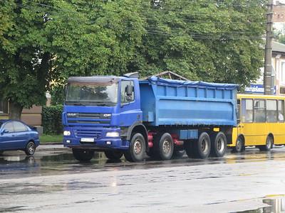 TRUCKS IN UKRAINE AUG 2019