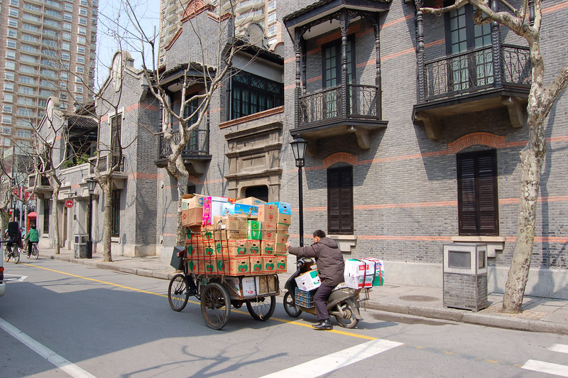 Shanghai, China: The French Concession