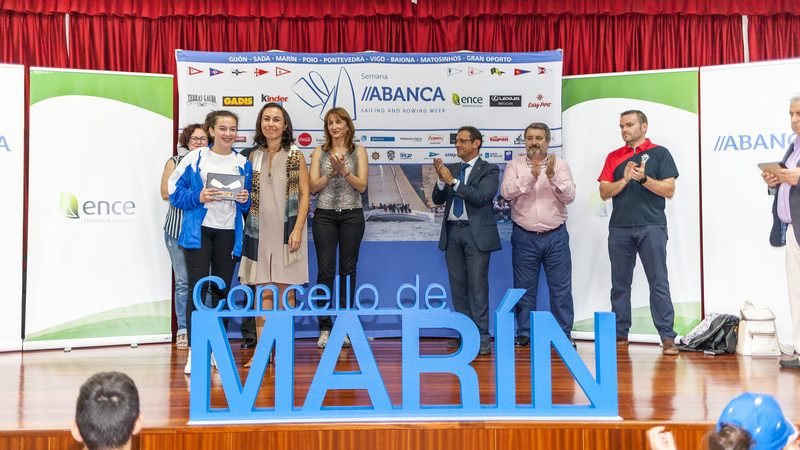 GIJÓN - SADA . MARIN - POIO - PONTEVEDRA - VIGO - BAIONA - MATOSINHOS - GRAN OPORTO DD++D Semana JABANCA Qence Create one TERRAS GADA GADIS Kinder. SAILING AND ROWING WEEK RICA Coren Bonn monkures P MABANA O ASMA lence Concello de MARINA