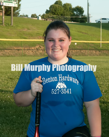 13-21 Softball Benton Hardware Team, Coach Roxanne Lee, June 19, 2014.