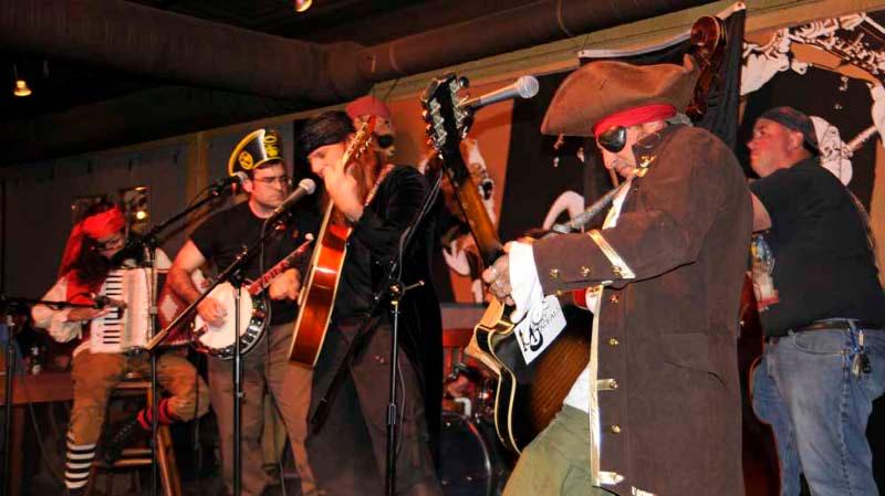 More Jackals at Pirate Night.