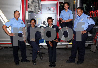 African American Female Fireighters of Indy