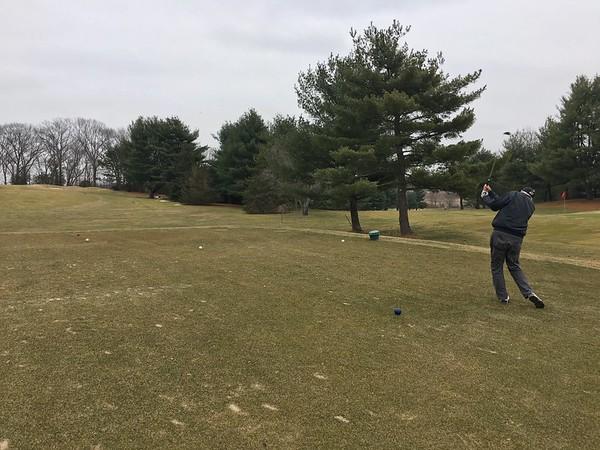 Timberlin golfing