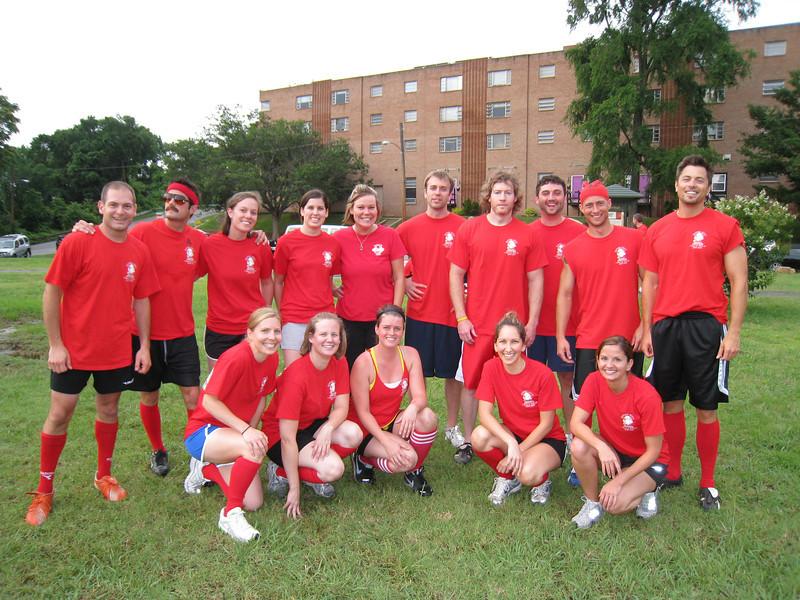 6/9/2009 - Kickball team photo.