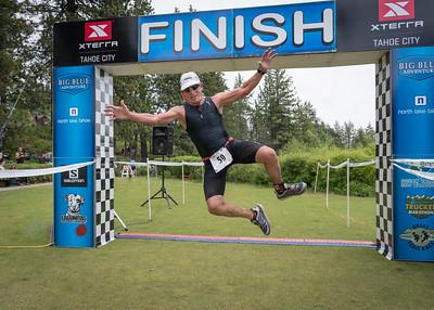 XTERRA Tahoe City Finish