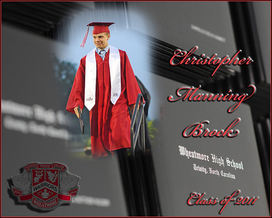 Wheatmore Graduation Collage Examples
