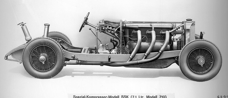 1928-32 Mercedes-Benz SSK 7.1L I-6 Supercharged Chassis.jpg