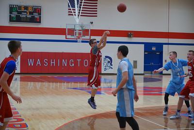 Boys Freshman Basketball vs Jefferson