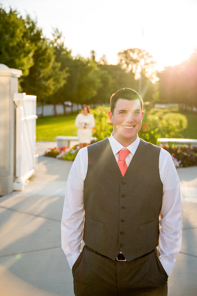 First Look & Formals - Timpanogos Temple