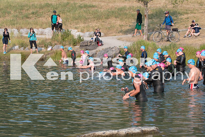2017 Xterra Canmore Swim Start