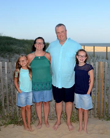 Miller Family Beach Portraits Aug. 22, 2017