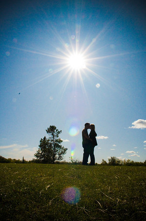 Christine & Jamie's Engagement Shots Sept 20, 09