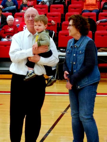 Coach Strothman Honored / SENIOR NIGHT @ WHS 022618