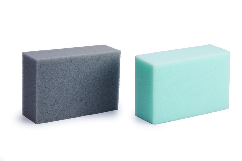 Gelmar Rectangular Sponge, Grey & Teal