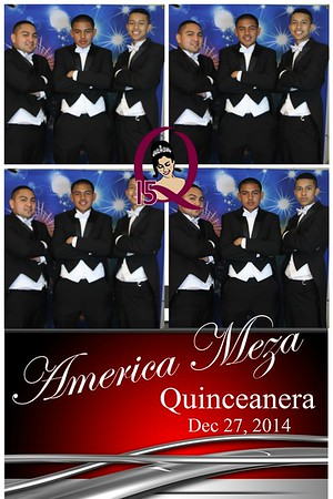 America Meza's Quinceanera