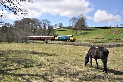 Keighley & Worth Valley Railway diesel gala. 26/04/13.