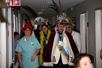 Bezoek Woon- en Zorgcentrum 't Blauwhof Steendorp 2006