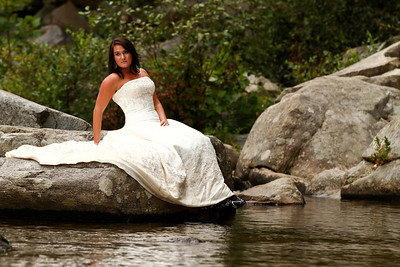 Wilson's Creek Trash the Dress with Kim