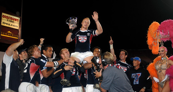 2010 RUGBY LAS VEGAS SEVENS USA VS FRANCE  FINAL CUP