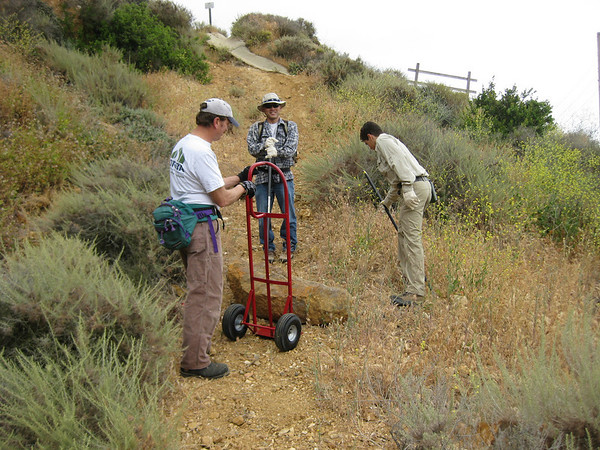 2008-5-10- P.V. Trail Maintenance