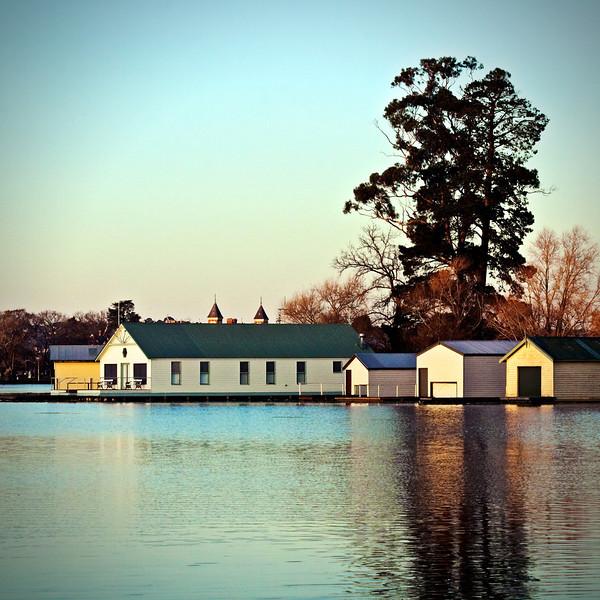 Lake Boatsheds