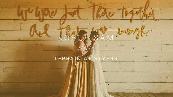 KORI + SAM ////// TERRAIN AT STYERS