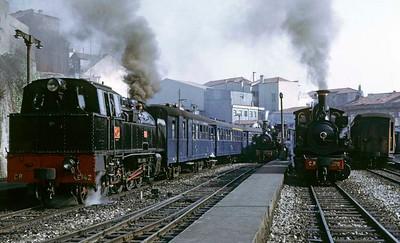 Porto metre gauge steam, 1972