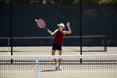 4/17/19: Girls' Thirds Tennis v Canterbury