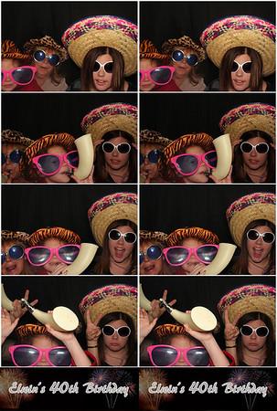 Elwin's Birthday Party 11.9.12 @ Palmetto's