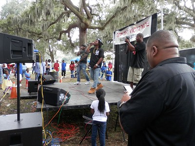 Stop The Violence Music Festival in Daffin Park Savannah Ga