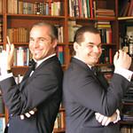 Lars Ch. Stricker & Dirk Martin die SALONGANOVEN, live Musik der TimeCatcher