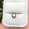 1.14ct Late Victorian Old Mine/Antique Cushion Cut Collet Component 0